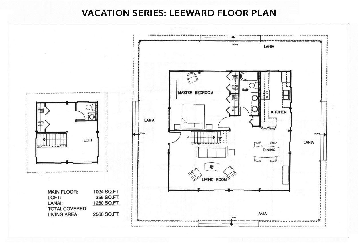 Leeward Floor Plan Vacation Series Ihc